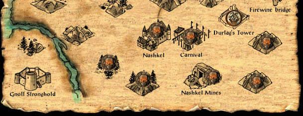 The Ironworks Baldurs Gate World Map